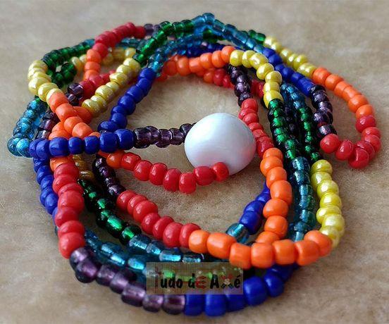 Guia/Fio de Conta do povo cigano 7 cores