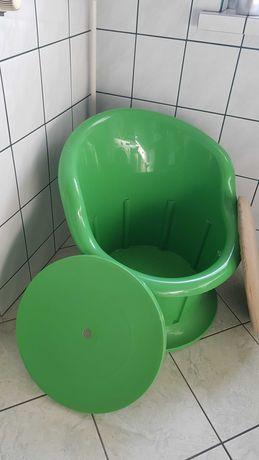 Fotel ze schowkiem Ikea PCV