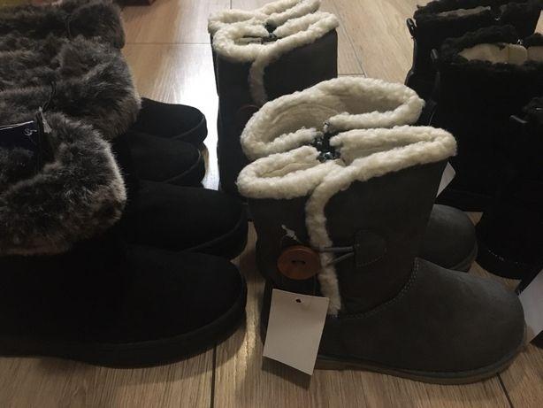 Новые демисезонные ботинки Lupilu обувь для дівчаток 26 27 28 30