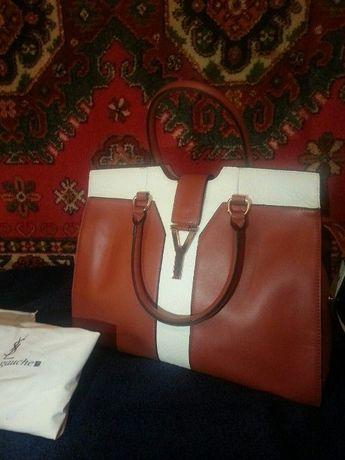 Продаётся новая кожаная женская сумка за 1900гр. Донецк Пролетарский