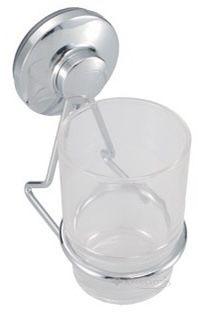 Стеклянный стакан Trento Adige на присоске новый