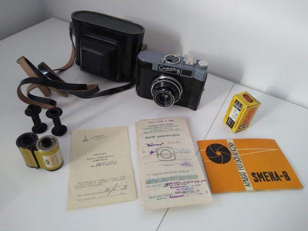 SMENA 8 Stan Bardzo Dobry - Aparat z 1969 roku - Produkcji ZSSR
