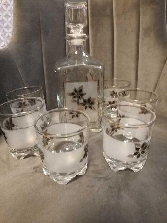 Karafka + 6 szklanek