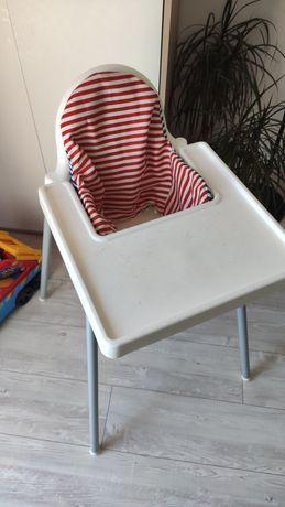 Krzesełko Ikea z poduszką
