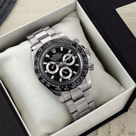 Zegarek Rolex Daytona AAA Silver-Black-Black