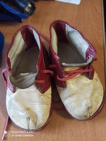 Кожаные  ботиночки ссср