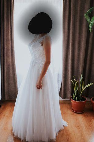 Suknia ślubna Amera Vera rozmiar 40 biała