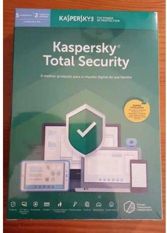 Antivírus Kaspersky Total Security  2021 I 1 ano