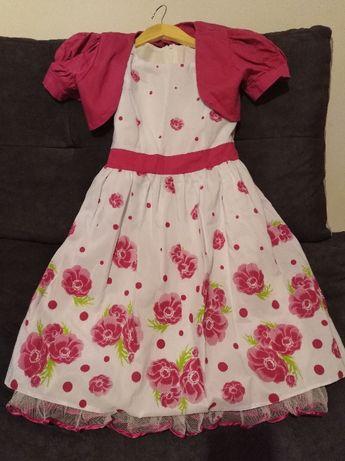Sukienka dziewczęca r.152
