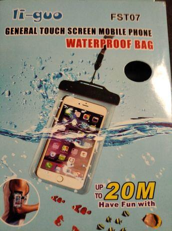 Etui wodoodporne do telefonu- nowe