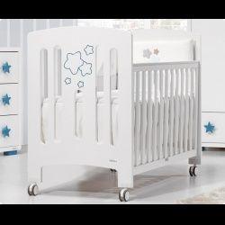 Кровать для новорожденного Trama Star звезды + кокосовый матрас