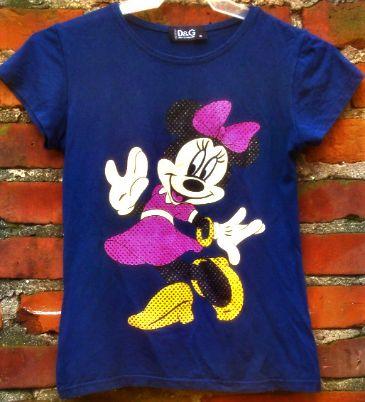 Oryginalna koszulka Myszka Minnie D&G