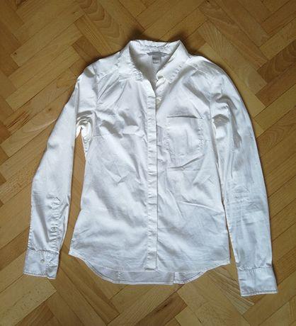 Biała koszula H&M 34