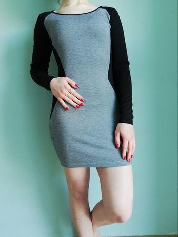 sukienka obcisła mini cropp S