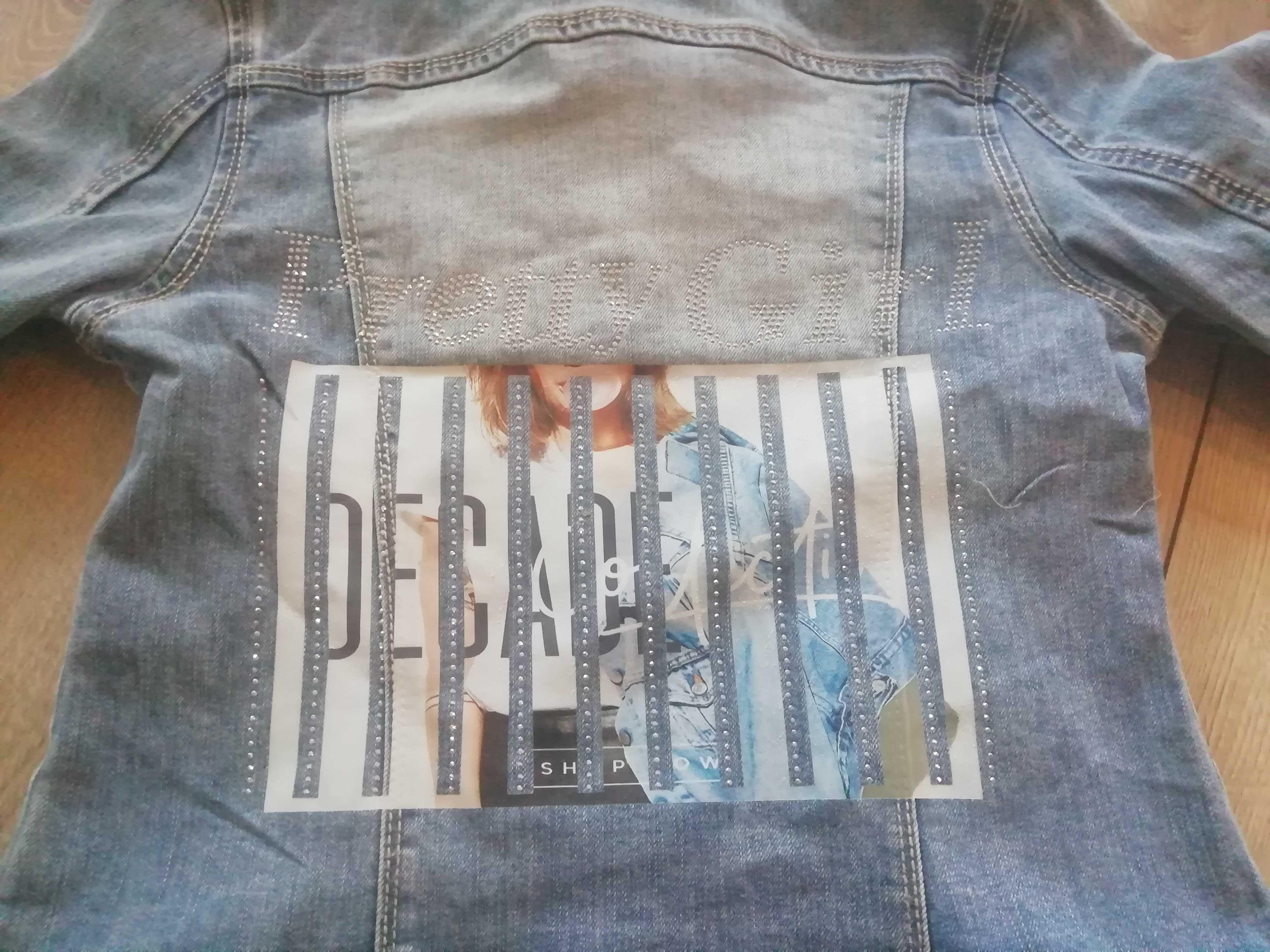 Katana, kurtka jeansowa nowa 152 - 158 nowa