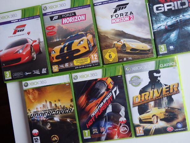 XBOX 360 FORZA HORIZON Forza Motorsport GRID Need For Speed DRIVER