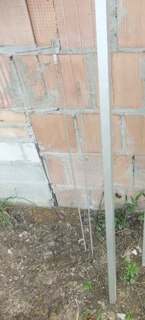 nowy aluminiowy profil zamknięty, kwadrat, listwa 2 m