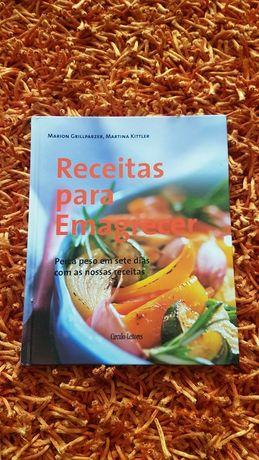 PORTES GRÁTIS - Livro de Receitas para Emagrecer