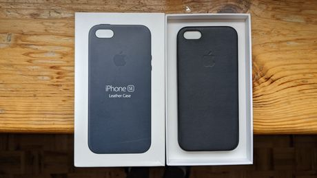 Apple Leather Case iPhone SE 5s Midnight Blue