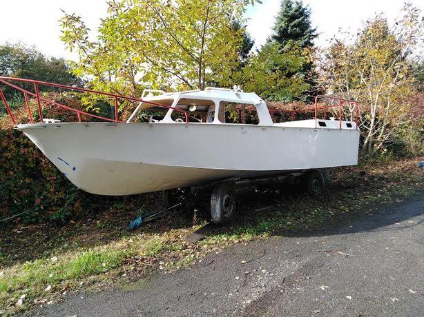Aluminiowa łódz motorowa lub zamienię na samochód typu Van