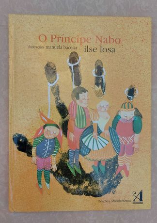 """Livro """"O Príncipe Nabo"""""""