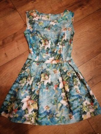 Super sukienka wyjściowa damska rozmiar S