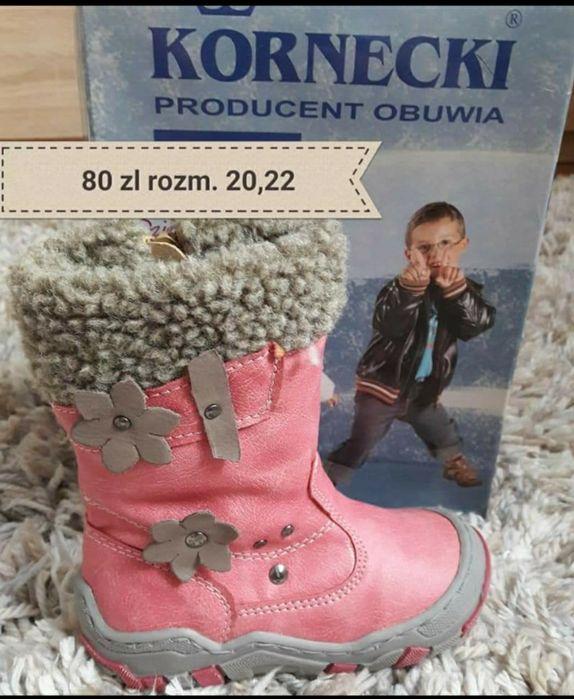 Nowe trzewiki zimowe firmy Kornecki dostępny 20 i 22 Biała Podlaska - image 1