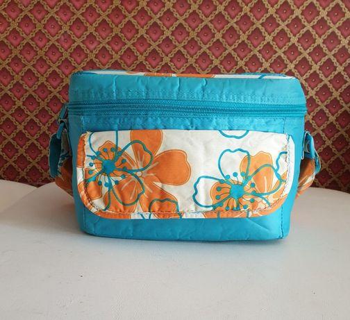 Термо сумка Avon Голубая Холодильник