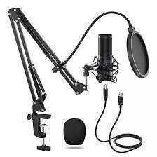 Microfone Tonor Q9 kit usb