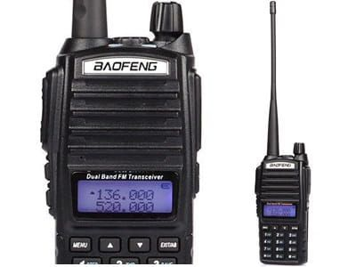 Radiotelefon Baofeng Dual Band Skaner odblokowany UV-82 HT Policja,PKP