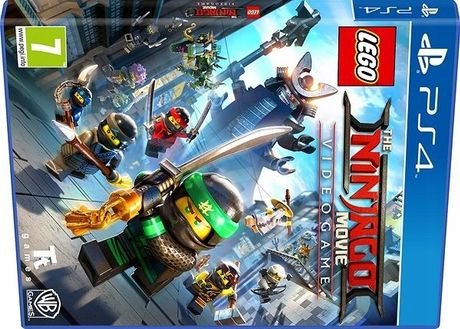 Lego ninjago ps4, gra w folii, pl, sklep Tychy