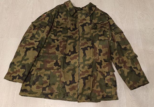 Bechatka kurtka wojskowa z podpinką wzór MON.