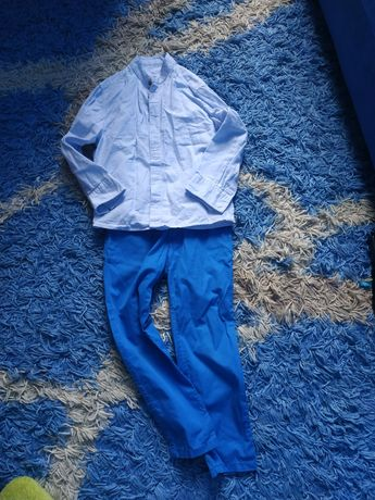 Комплект костюм рубашка штаны H&M на мальчика 3-5 лет