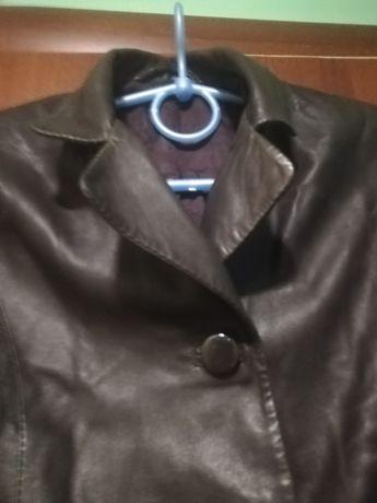 Куртка піджак шкіряний