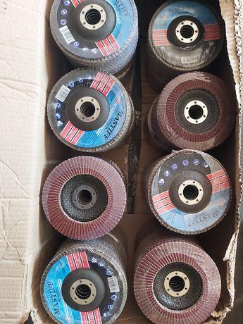 Круг лепестковые пелюстковий 125 зачистной шлифувальний диск клт