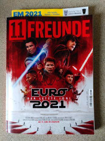 magazyn elf 11 Freunde elf Nr 235 najnowszy Euro 2021 Der letzte Jogi