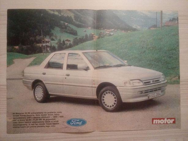 Plakat Poster Ford Orion Ghia 33,5cm x 47,5cm Samochody Auto Cars