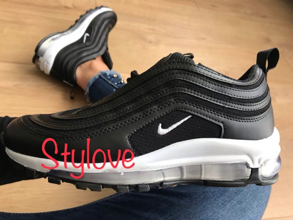 Nike Air Max 97 Rozmiar 41. Czarne - Białe. WYPRZEDAŻ!!!