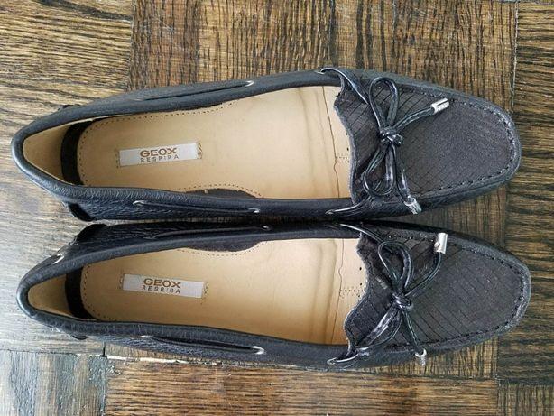 Geox туфли-мокасины, 35р, кожа