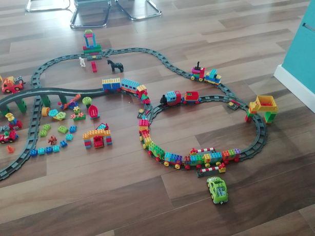 Lego Duplo bardzo duzy zestaw stan idealny