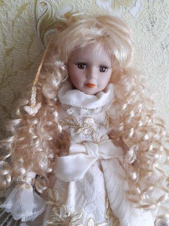 Фарфоровая кукла. Порцелянова лялька .Кукла интерьерная .