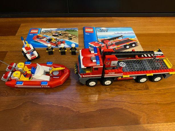 Klocki LEGO City 7213 Terenowy wóz strażacki
