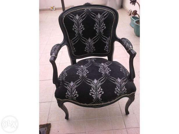 Cadeira de braços remodelada