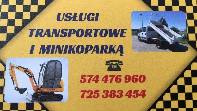 Usługi Minikoparka Wywrotka 3,5 T