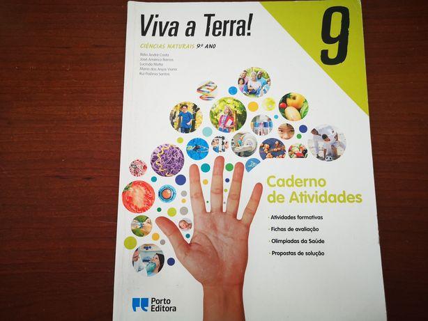 Viva a Terra, caderno de atividades Ciências Naturais 9 ano