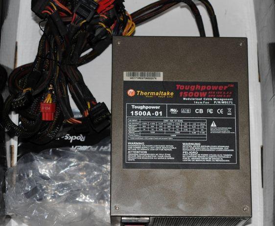 Блок питания 1500 Вт! Thermaltake Toughpower 1500W