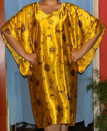 Домашнее платье-халат