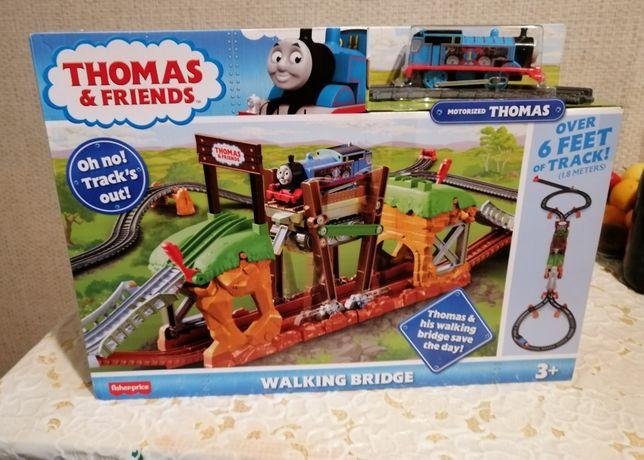 Томас и друзья Железная дорога с передвижным мостом моторизированный