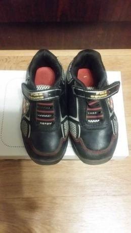 Кожаные кроссовки Smartfit USA со светящимися элементами