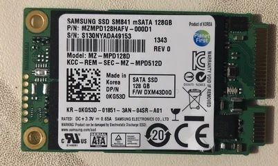 SSD накопитель mSATA 128GB SAMSUNG